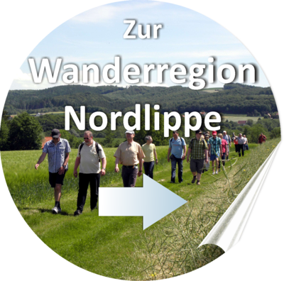 Wanderregion Nordlippe - Button